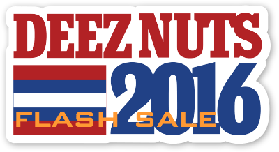 Deez Nuts Flash Sale for T-Shirts Discovered Online